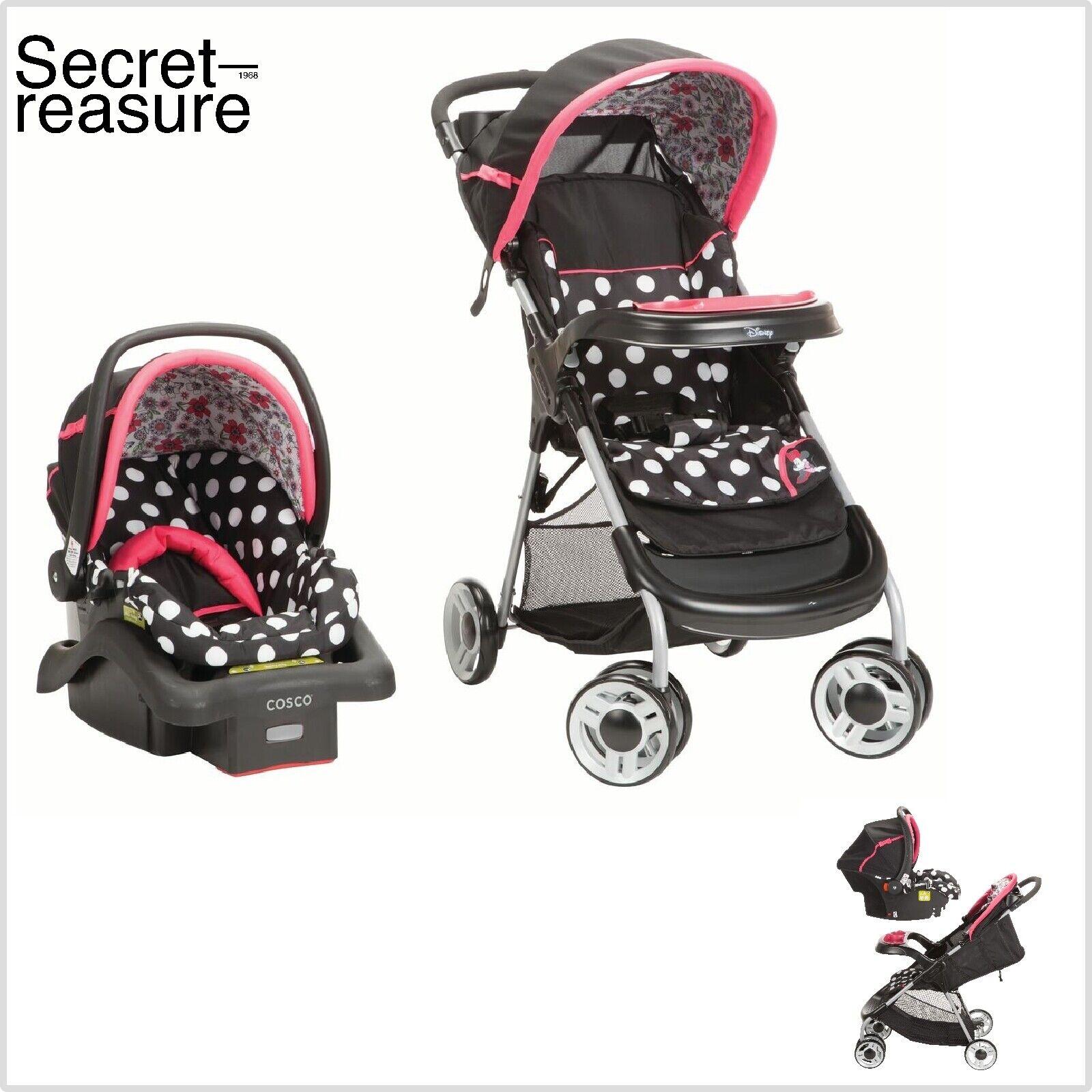 Travel System For Girls Lightweight Infant Car Seat Set Newb