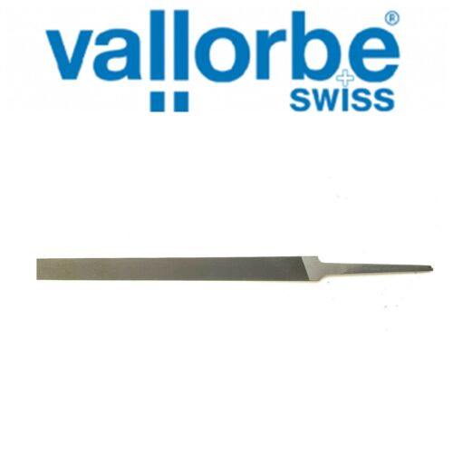 "GROBET SWISS-VALLORBE HAND FLAT FILE - 6"" Long-Cuts # 3 150mm NOW"