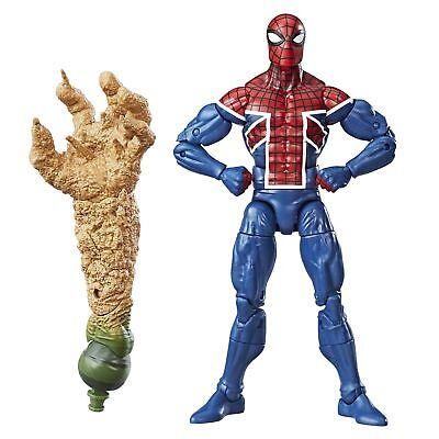 "Hasbro 6"" Marvel Legends Spiderman SPIDER_UK  from Sandman B"