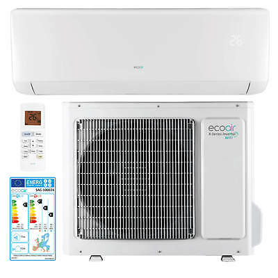 A+++ Energy Rated Inverter Split Air Conditioner 12000 BTU Heating & Cooling