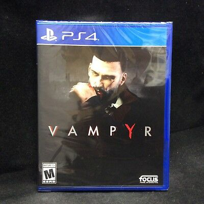Vampyr  Sony Playstation 4  Brand New   In Stock   Region Free