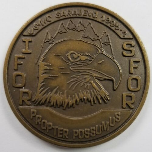 US European Command USNIC US Nuclear Industry Council SARAJEVO SFOR IFOR Coin