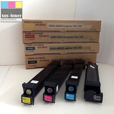 Magicolor 7450 Toner Cyan (Toner Cyan Minolta Magicolor 7400/7450, kompatibel zu 8938624)