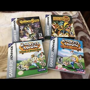 Nintendo game boy advance games complete