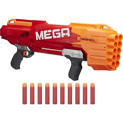 hock, Nerf Gun, rot (Mega Nerf)