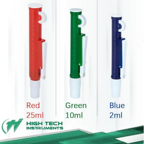 3 Pcs Fast Release Pipette Pump Pipettor Transfer Pasteur Manual Dispensers
