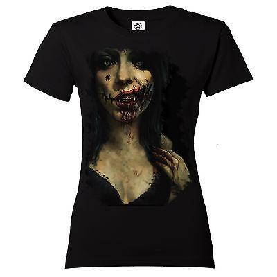 Damen Dead Sexy Zombie Apocalypse Walking Dead Resident Evil Gotik (Sexy Zombie)