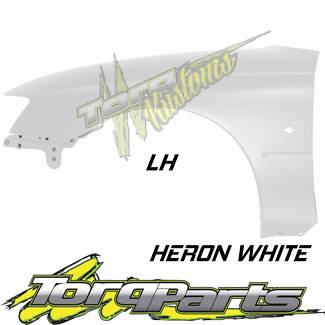 LH HERON WHITE GUARD SUIT VY VZ HOLDEN COMMODORE FENDER QUARTER