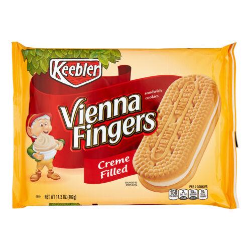 Keebler Vienna Fingers Creme Filled Sandwich Cookies 14.2 oz