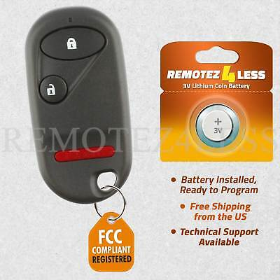 Replacement for Honda Civic CR-V Element Keyless Entry Remote Car Key Fob