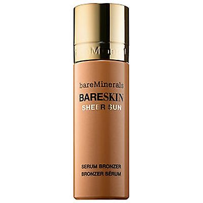 BAREMINERALS BARESKIN SHEER SUN SERUM BRONZER FULL SIZE 1 OZ BARE MINERALS BOXED