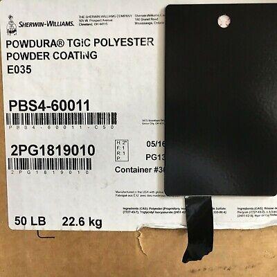 Sherwin Williams Black Powder Coat Paint - Semi Gloss New 1lb Free Shipping