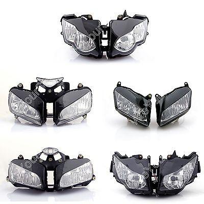 Motorcycle Headlight Head Light For Honda Cbr600rr Cbr1000rr Cbr 600 1000 Clear