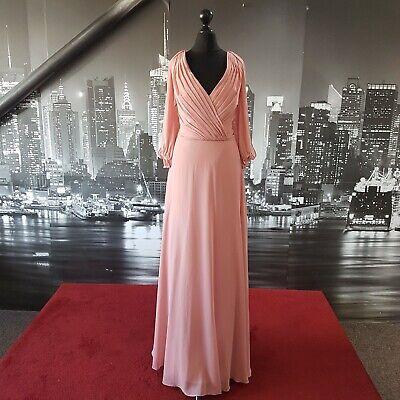 JENNY PACKHAM Dress (Size 16-Desert Rose-JP1020), Ball, Bridesmaid, Tag £265
