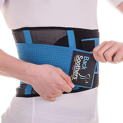 Back Support Brace BackSoothers® Super Lightweight Lumbar Lower Neoprene Belt