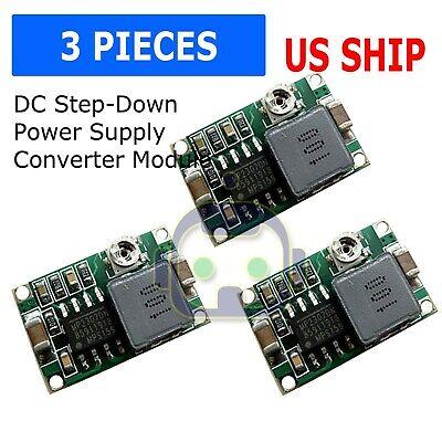3pcs Mini360 3a Dc Voltage Step Down Power Converter Buck Module 3.3v 5v 9v 12v