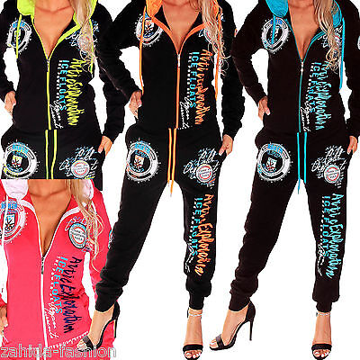 Ladies Leisure Suit Jogging Streetwear Sports Clothing Tracksuit Fitness Fashion