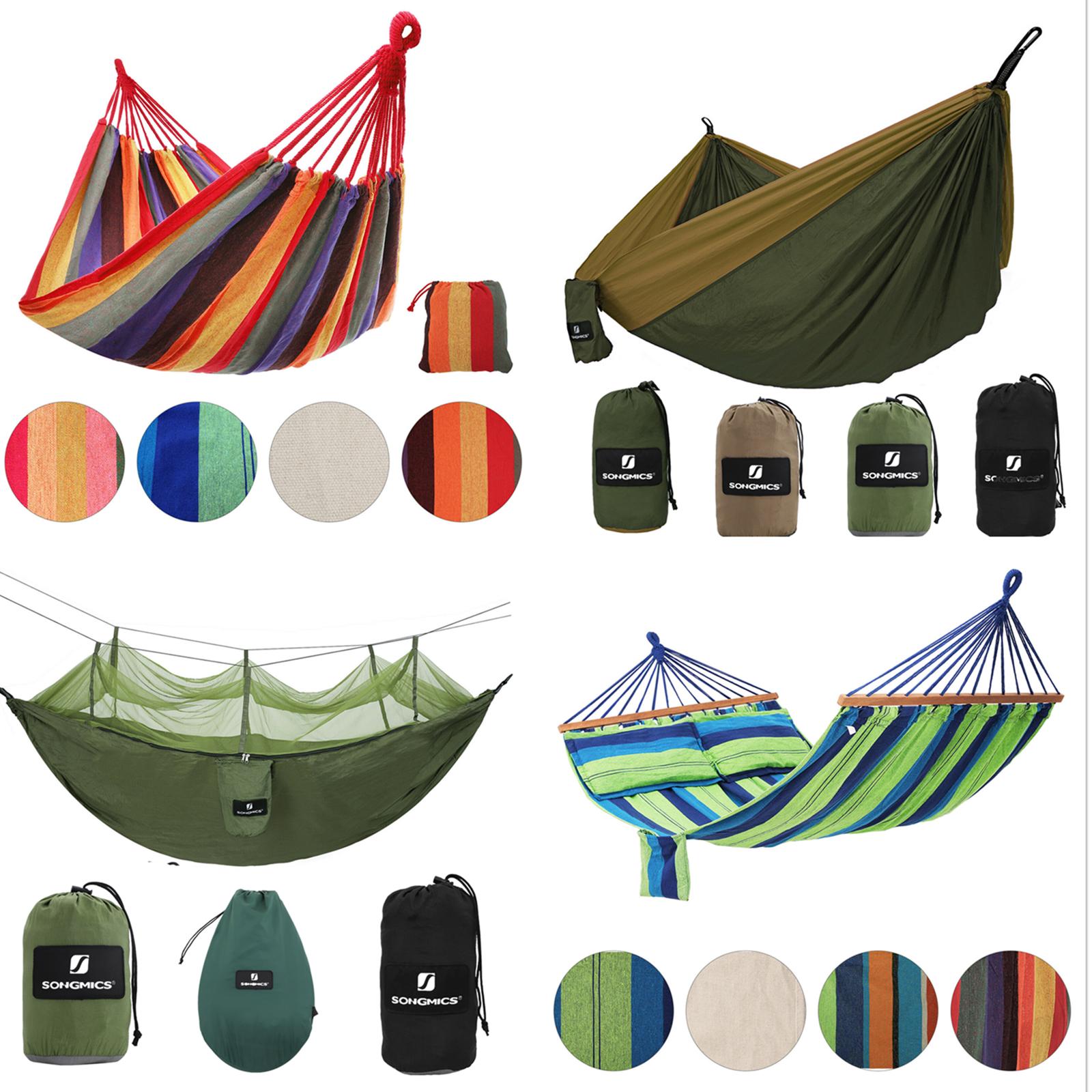 XXL Hängematte Mehrpersonen Hängematten bis 300kg Hängestuhl Camping Outdoor