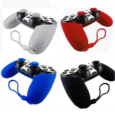 Silicone Cover Case for Sony Playstation 4 PS4 Controller JOYSTICK GRIP US Stock ()