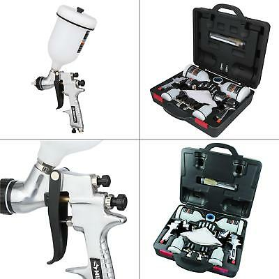 Car Automotive Paint Painter Air Spray Gun Kit Husky HVLP Standard Gravity Feed
