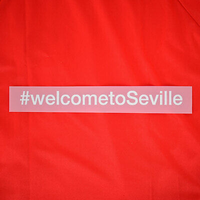 2019-20 Sevilla Player Issue Sponsor Patch #welcometoSeville for Shirt Jersey