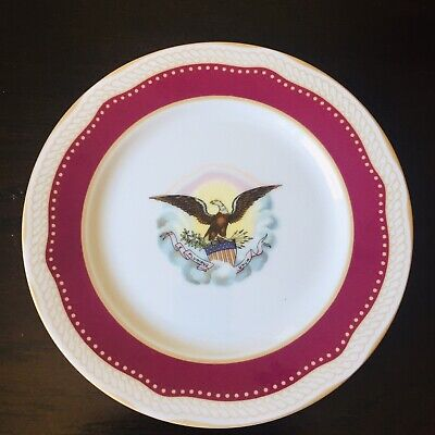 White House Collection Abraham Lincoln Decorative Plate Limited Edition
