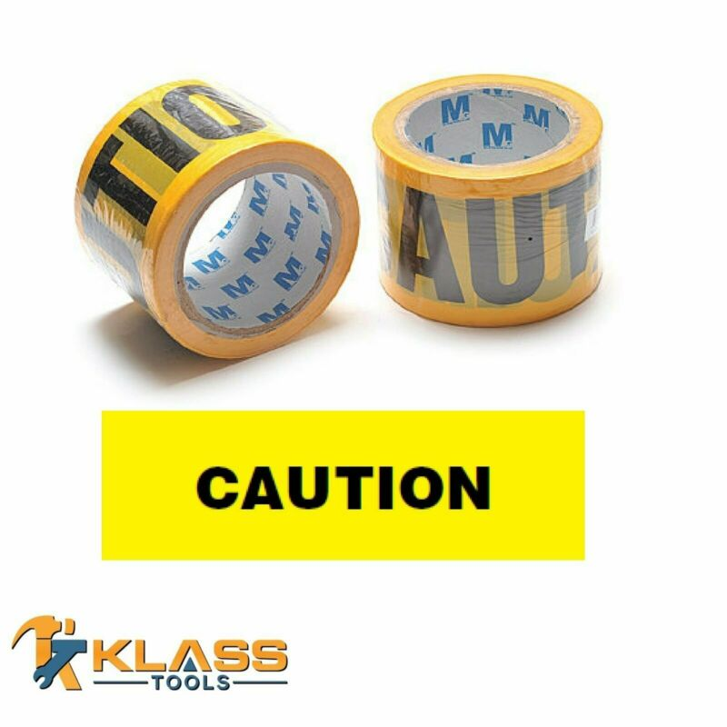 """Yellow Caution Tape 3"""" x 1000 FT (333 Yards)"""