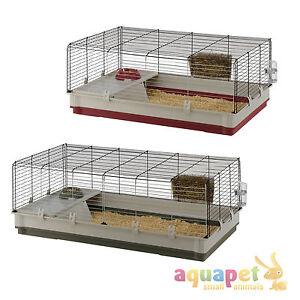 Ferplast krolik rabbit cage large extra large red green ebay for Extra large rabbit cage