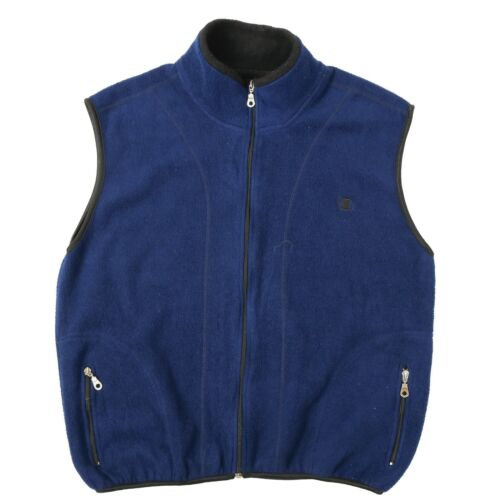 shop pretty cool entire collection Vintage CHAMPION Sleeveless Fleece Jacket | Mens L | Vest Gilet ...