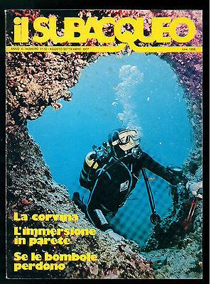 IL SUBACQUEO RIVISTA NUM. 51-52 ANNO V AGOSTO-SETTEMBRE 1977 EDIZ. LA CUBA