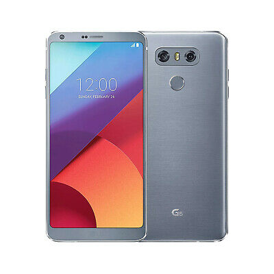 LG G6 Ice Platinum 32GB - GSM Unlocked Smartphone Excellent Condition