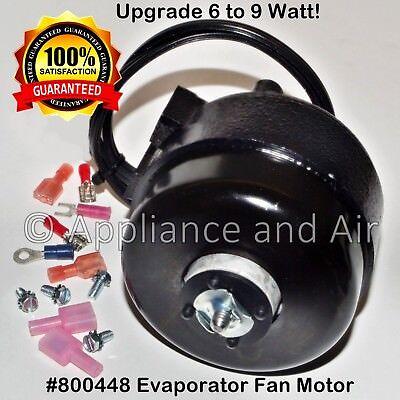 800448 Low Temp. Psc4be6hba16 115v Evaporator Fan Motor Upgrade - Ships Today