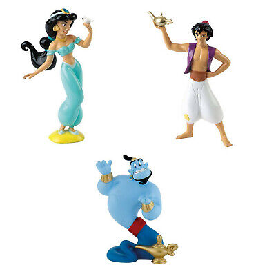Bullyland Disney Figur / Tortenfigur - Aladdin, Jasmin, Dschinni - NEU