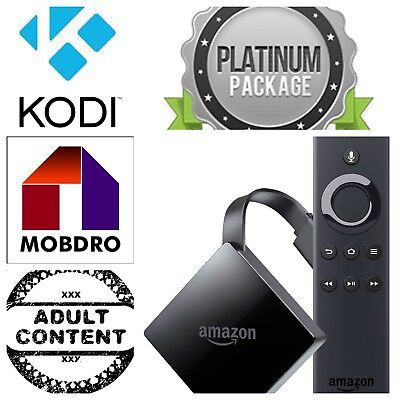 🔥Unlock Amazon Fire TV BOX 3rd Gen 4K Ultra HD Alexa Voice Kodi 17.6 🔥
