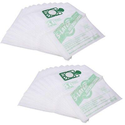 20 x Numatic Henry Hetty HEPAFLO Hoover Bags Vacuum Cleaner Cloth Hepa Flo Bag