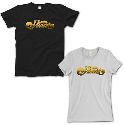 Heart Band Logo Gold T-Shirt Men / Women