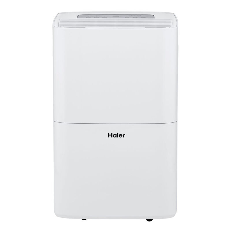 Haier 70 Pint 2 Speed Digital Control Portable Dehumidifier w/ith Pump HEN70ETFP