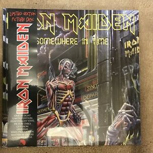 Iron Maiden - Somewhere in Time. Gatefold Vinyl Picture Disc.