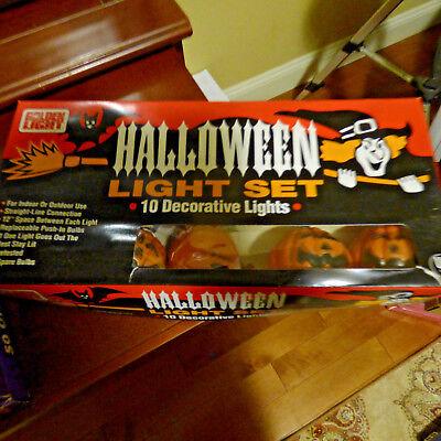 Halloween In/Outdoor Pumpkin Lantern (10) Decorations Waterproof Lights (Outdoor Halloween Decorations Pumpkin)
