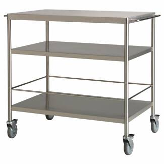 IKEA FLYTTA Kitchen trolley, stainless steel