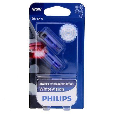 W5W Philips WhiteVision Intensive Xenon Effekt 4300K 12961NBV Glühlampe 2 St. gebraucht kaufen  Kaltenkirchen