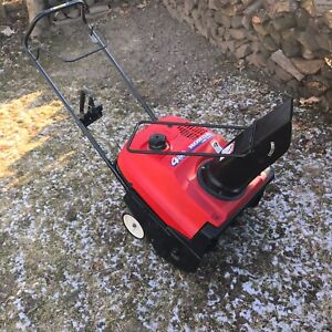 Honda HS 520 4 stroke snowblower. All tuned up and ready to go.