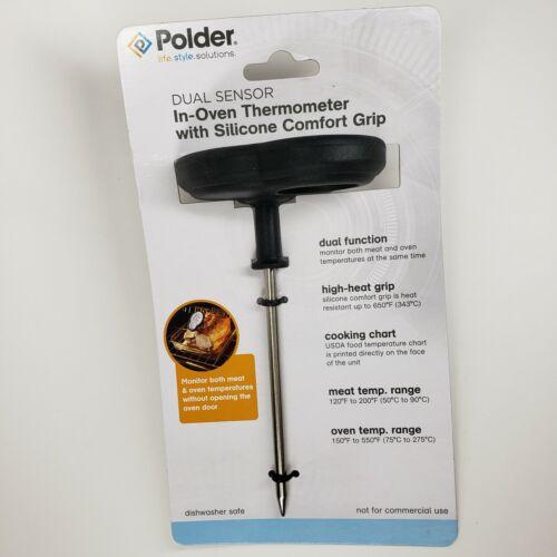 Polder Dual Sensor Analog Thermometer