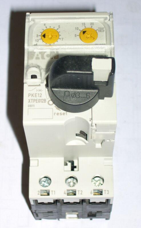 EATON, XTPE012BCA, ELECTRONIC MANUAL MOTOR PROTECTOR