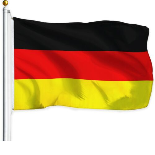 G128 - New 3x5 Ft German Germany Flag With Brass Grommets Usa Seller