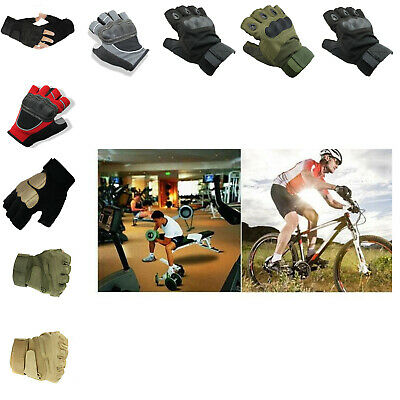 Best Bike Gloves Motorcycle Cycling Half Finger Bicycle Riding Training (Best Bike Riding Gloves)
