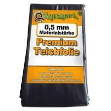 Teichfolie PVC 1mm schwarz in 10m x 4m