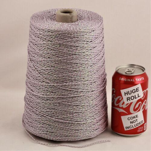 BULK LOT Purple Iridescent #46 Needloft Nylon Craft Cord - 4,000 feet! USA