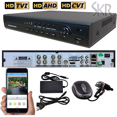 Sikker Standalone 8 CHANNEL 1080P 720P H.264 DVR Recorder