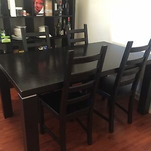 Dining table and chairs for sale Wiley Park Canterbury Area Preview